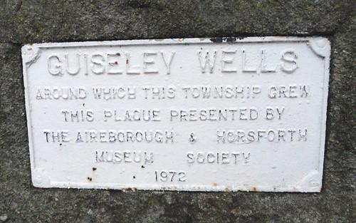 Guiseley Wells, Plaque | by sgwarnog2010