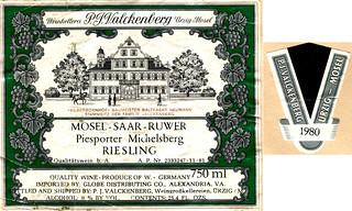 1980 - Piesporter Michelsberg (Mosel)