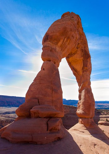 Delicate Arch looks like some type of alien transformer | by Alaskan Dude