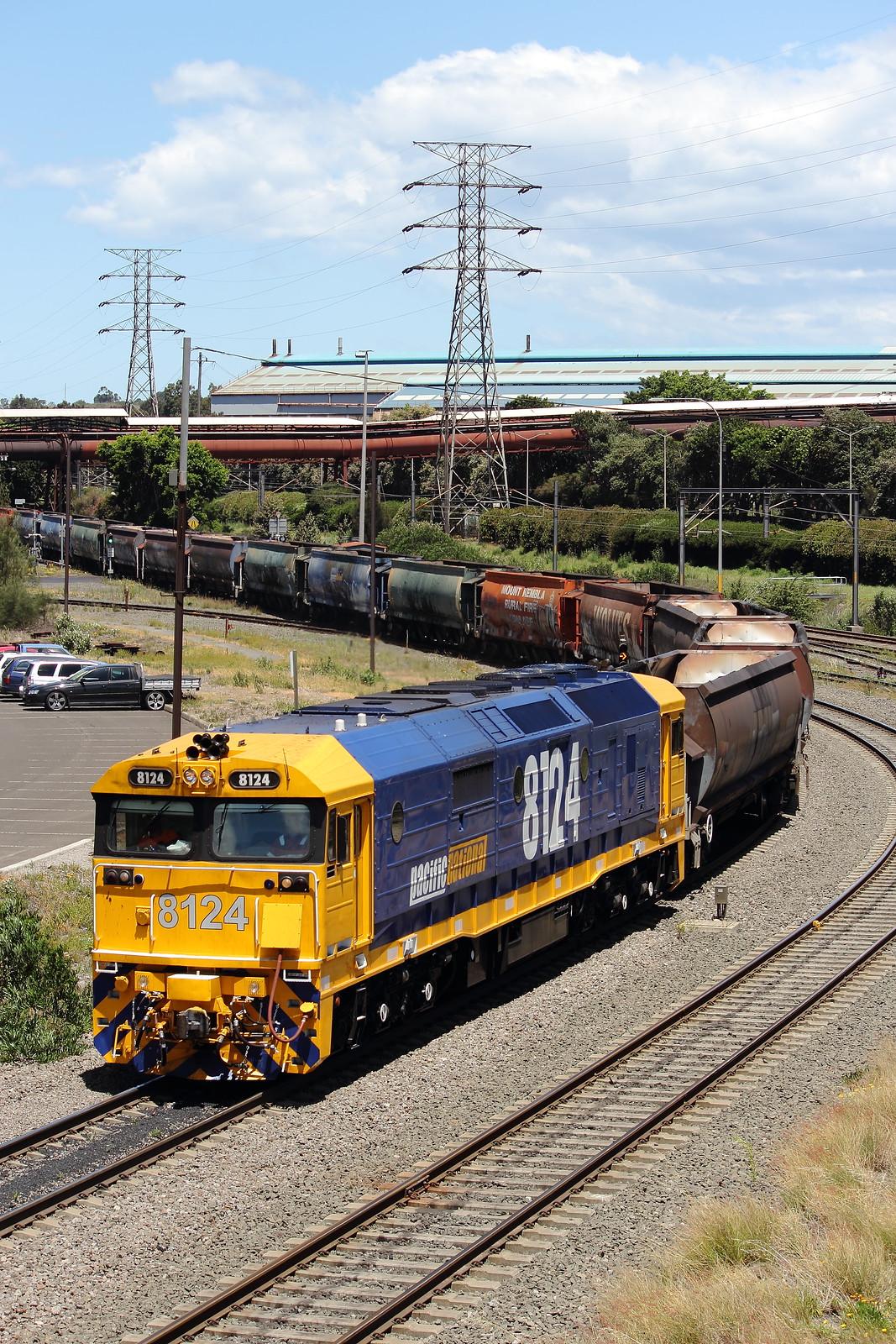 8124 on BHP Empty Coal by Benjamin Murch