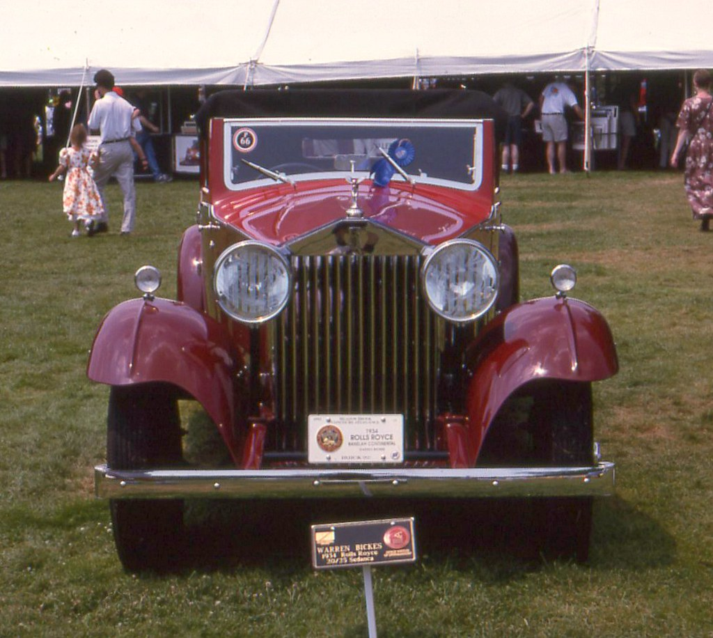 1934 Rolls Royce 20/25 Ranalah Convertible Victoria