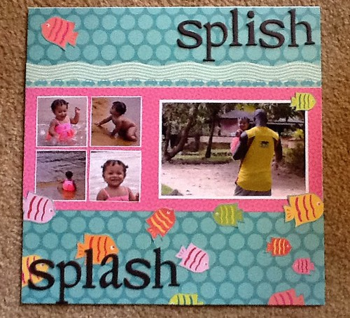First scrapbook layout ever. | by theresac