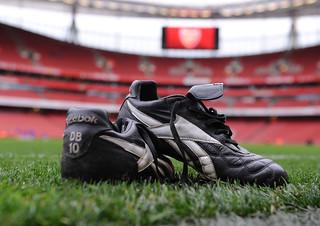 Dennis Bergkamp's boots