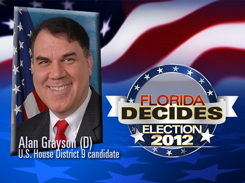 U.S. Representative Alan Grayson (D-Fla 9th) | by Paladin for Congress