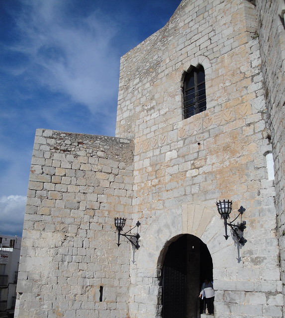 Portada del Castillo de Peñíscola.
