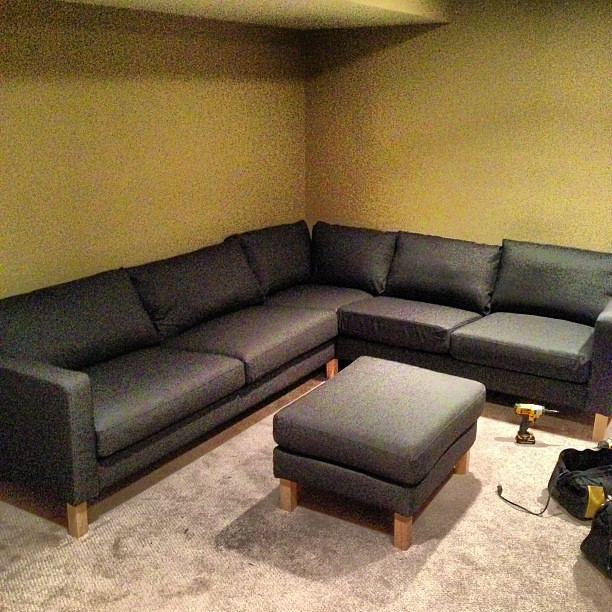 Fabulous Ikea Karlstad Sectional Sofa Assembly Disassembly M Caraccident5 Cool Chair Designs And Ideas Caraccident5Info