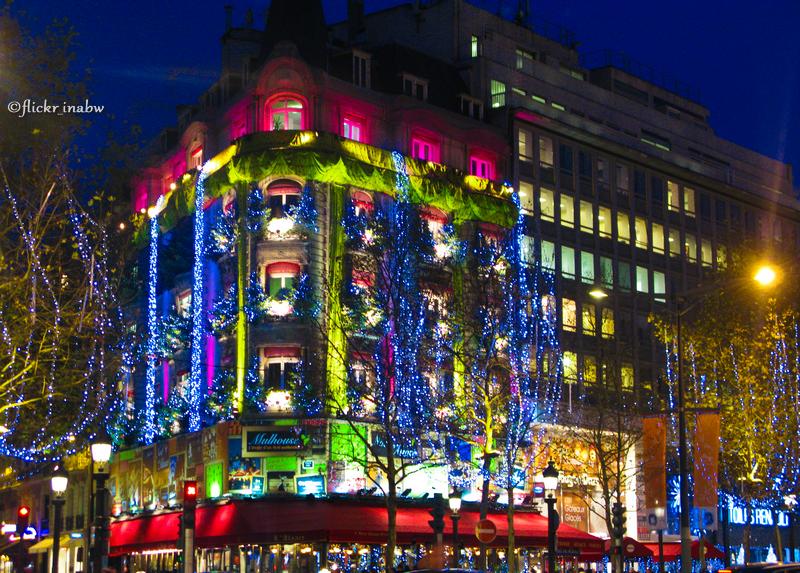 Christmas Lights In Paris.Christmas Lights In Paris Marina Bn Flickr