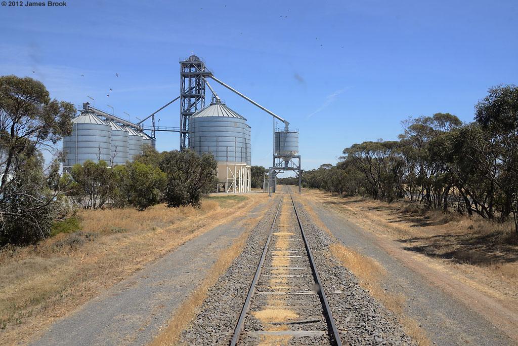 Nullawil grain loader by James Brook