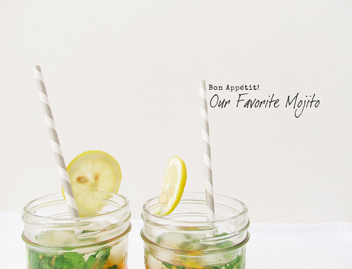 Bon Appétit!: Our Favorite Mojito | by Morrie & Oslo
