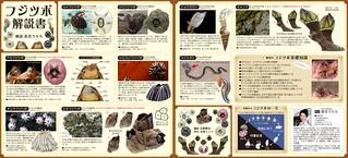mini brochure for barnalce capsule toy   by Urara BARNACLE
