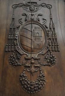 Baeza (Jaén). Museo de la catedral. Escudo episcopal