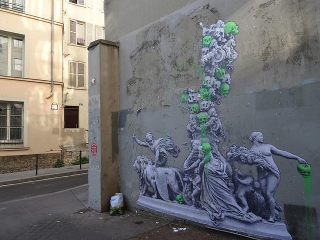 Urban art at the corner