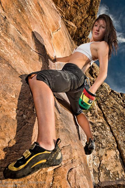 bouldering perspective