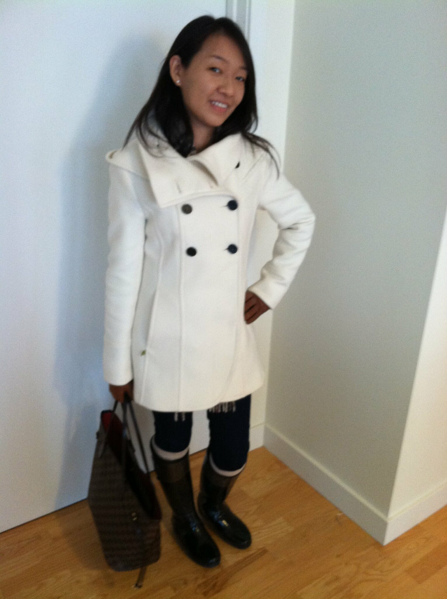 Soia & Kyo Bergi coat after alterations (casual)