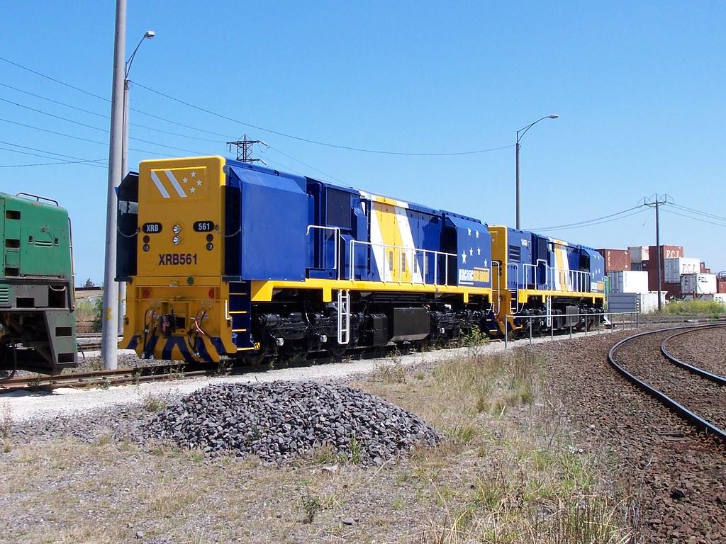 XRB561, XRB560 at the LPC by Alan Greenhill