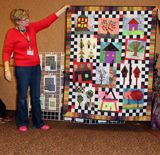 Barb's Home Sweet Home Quilt