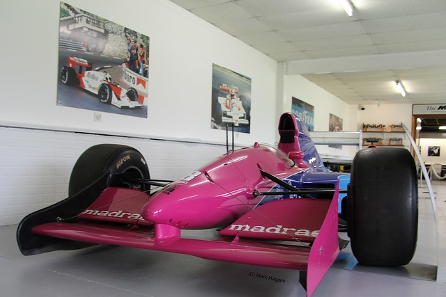 Giovanna Amati's 1992 Brabham BT60B at The Donington Collection