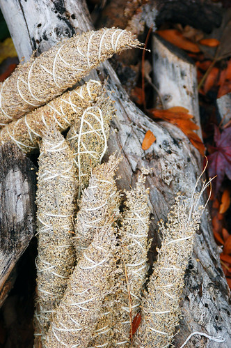 Dry Sage Bundles & Wood | by justthismoment