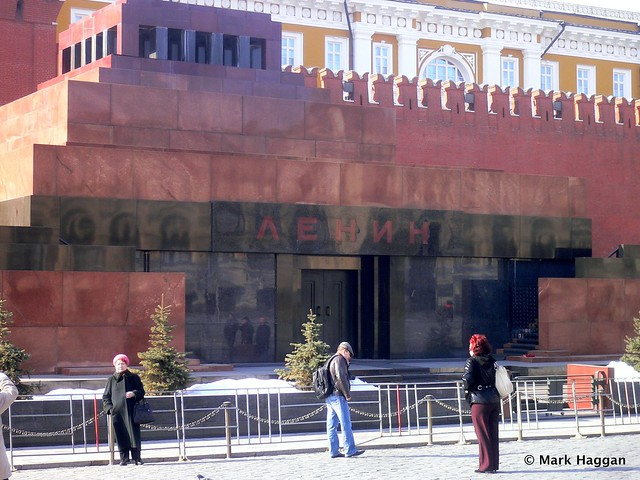 The Lenin Mausoleum, Red Square, Moscow