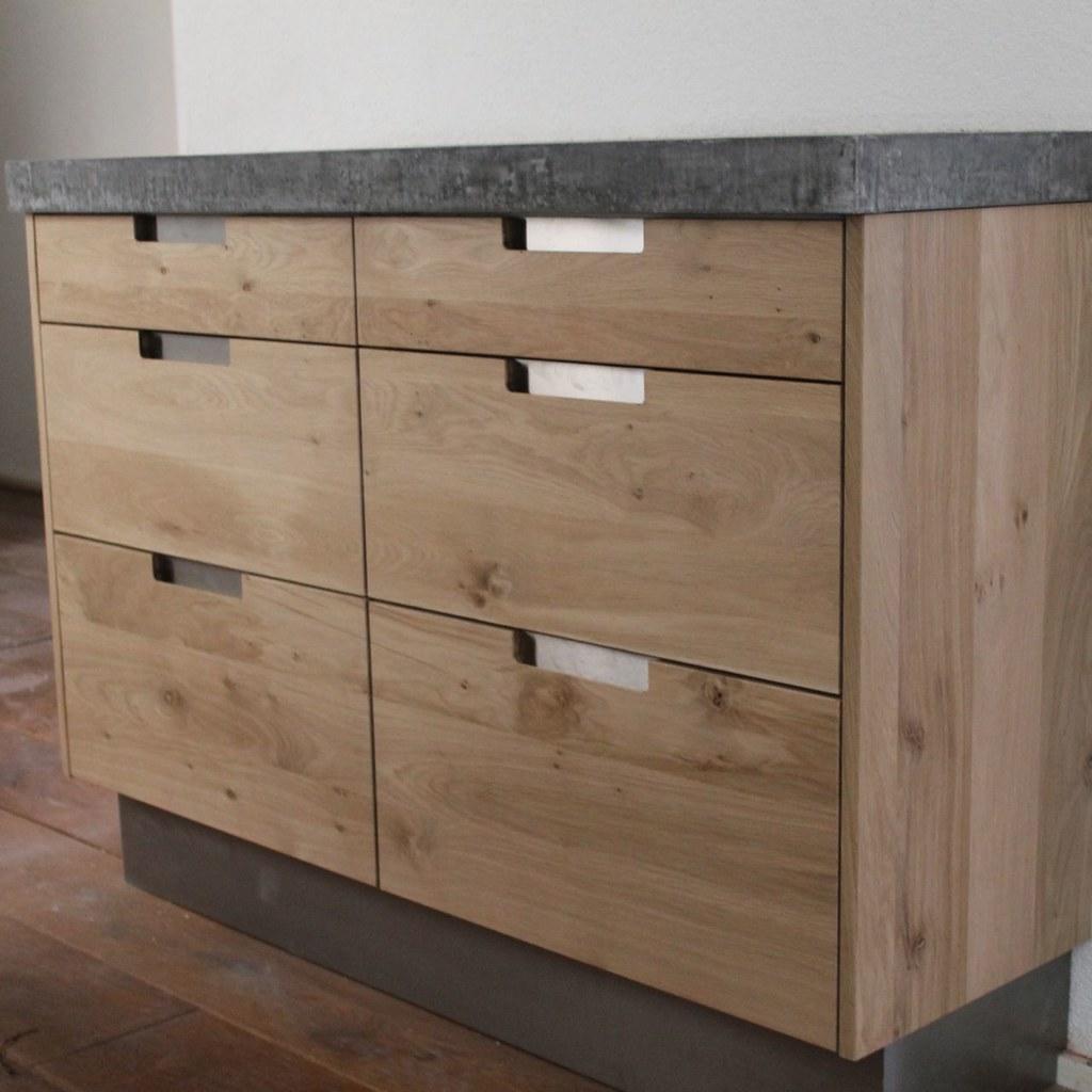 Ikoak Design Massief Eiken Houten Keuken Met Ikea Keuken K
