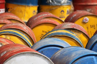 Oil drum compositions | by 10b travelling / Carsten ten Brink