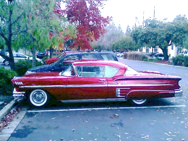 Chevy Impala 1953 Profile The Dark Red And Rocket Ship Flickr