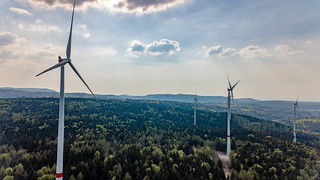 Wind power stations part of the new wind farm Straubenhardt | by marcoverch