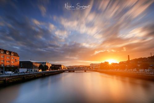 2018 cobh cork irlande landscape nicolassavignat photographer seascape urban countycork ie sunset