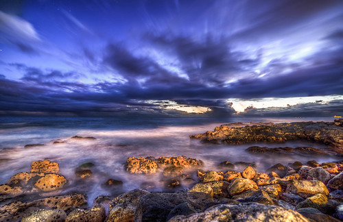 longexposure tide ocean sunset sky shore hawaii calm clouds ngc