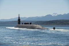 USS Nebraska (SSBN 739) file photo. (U.S. Navy/MC1 Amanda R. Gray)