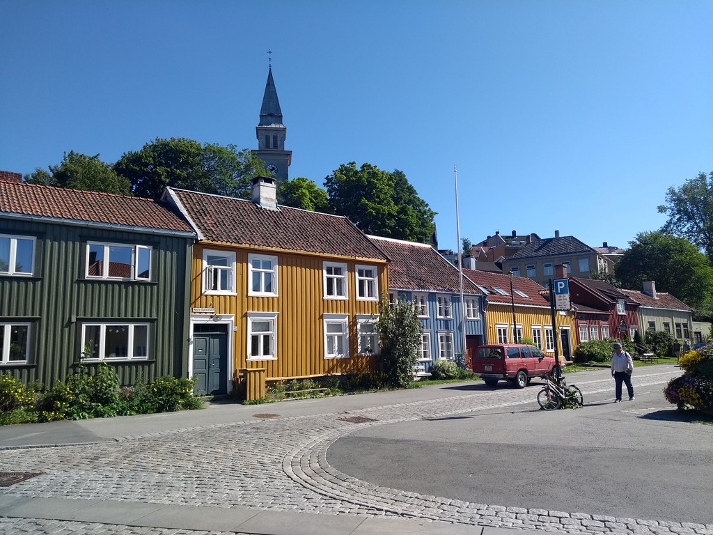 Cute Little Houses In Trondheim Cs2flickr Flickr