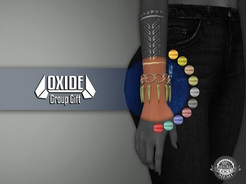 OXIDE Spikes Bracelet - Group Gift
