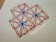 DreamDex - a new tangle pattern