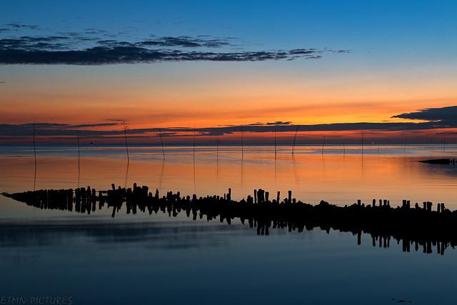 Sonnenuntergang Spieka-Neufeld