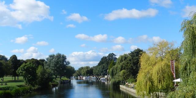 River Avon, Bidford on Avon, Warwickshire, Sep 2016