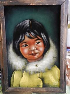 Black Velvet Eskimo child.