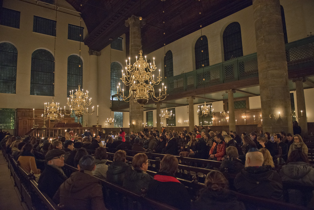 Portuguese Synagogue // Museumnacht Amsterdam 2012