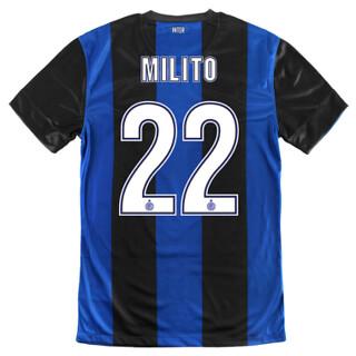 Maglia Inter home 2012-13 Milito 22   Inter maglia gara home…   Flickr