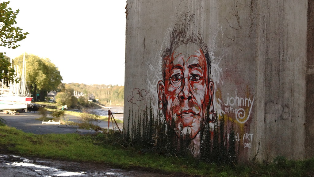 johnny rotten graffiti
