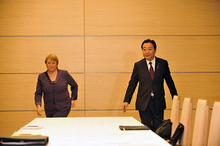 UN Women Executive Director Michelle Bachelet meets with Japanese Prime Minister Yoshihiko Noda on the first day of her official visit to Japan from 12 to 14 November 2012 | by UN Women Gallery
