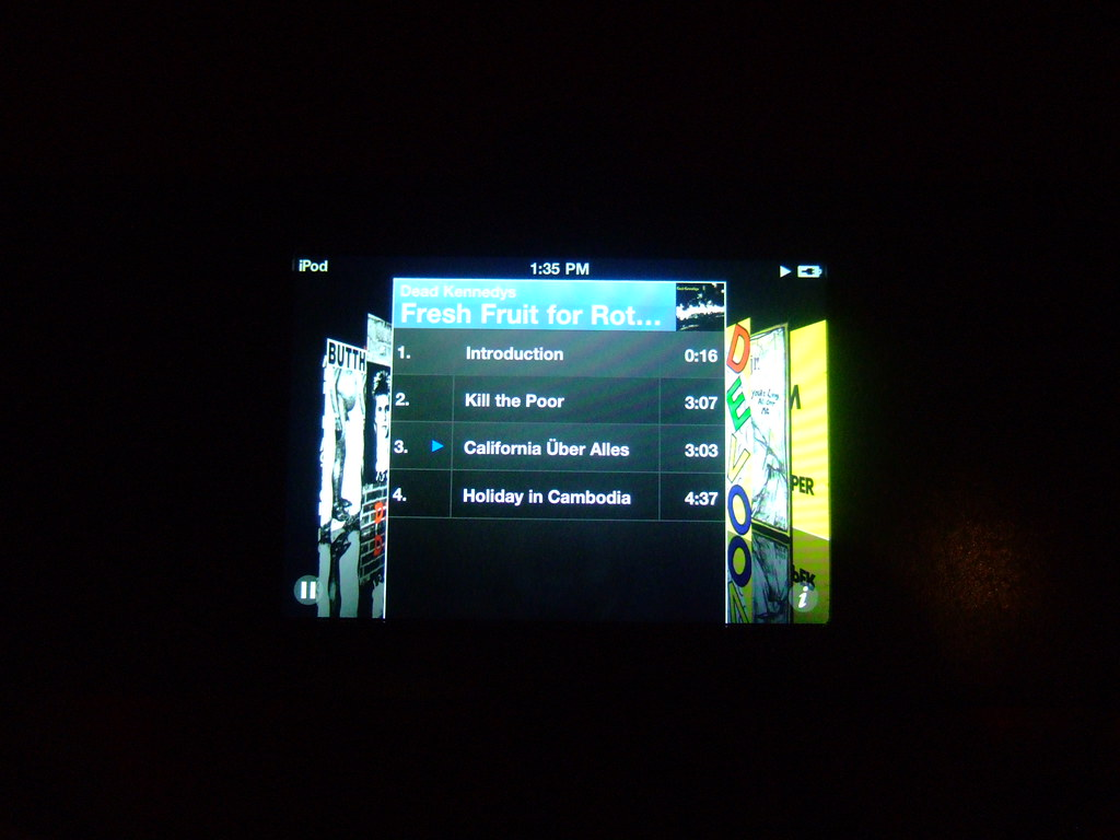 iPod in the EMP museum | Experience Music Project, Seattle ...