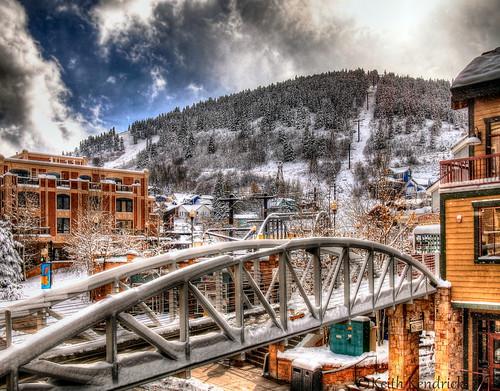Winter city landscape, Park City, Utah. | by Keith L Kendrick