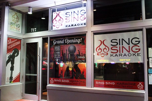 Sing Sing Karaoke Miami Store Front | by Sing Sing Karaoke MIAMI