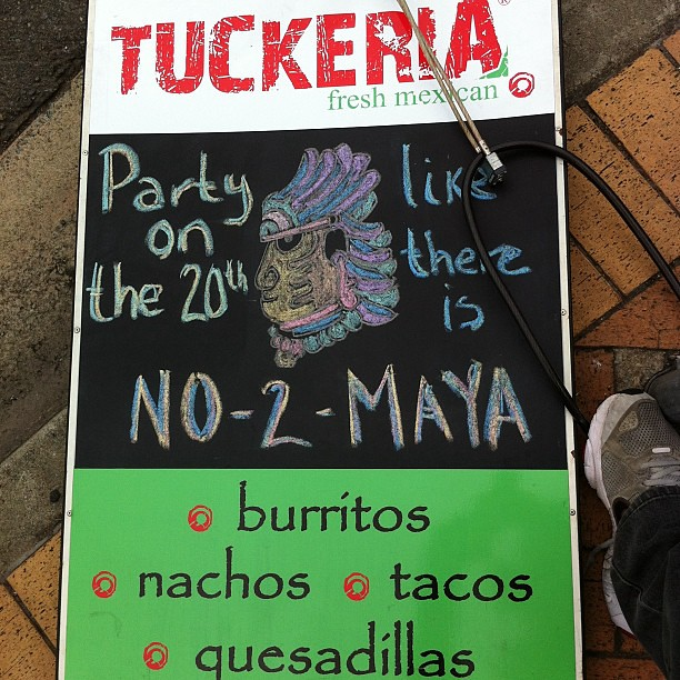 Just mayan mah own business when this earth shattering pun