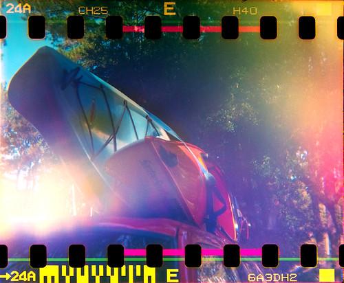 roof sunrise holga lomo lomography kayak fujifilm holga120s bolanhall