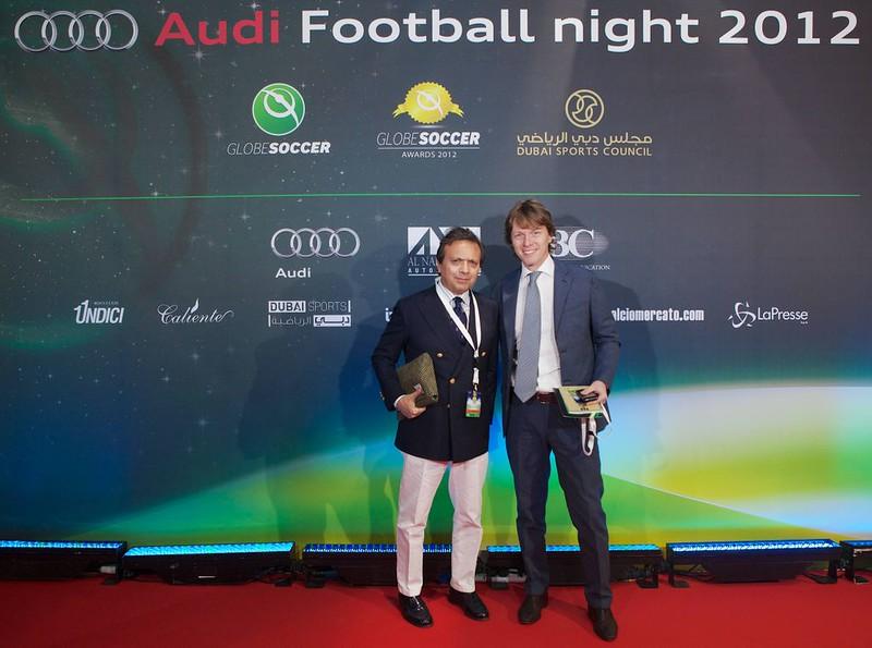 Piero Chiambretti and Alessandro Alciato