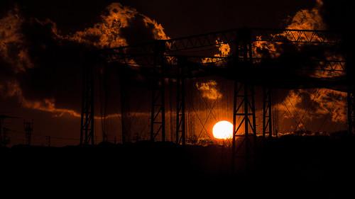 eve sunset sky japan newyear 2012 lastlight nakayama