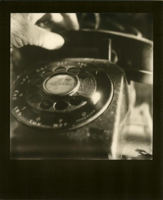 rotary phone...
