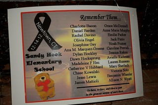 Poster - Remembering the Victims of Sandy Hook Elementary School | by NorthEndWaterfront.com