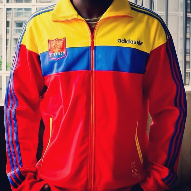 a34bcfbdd ... The Colorful Adidas Originals Ecuador Track Top by EnLawded.com | by  The Lawd for